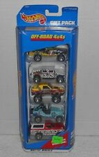 "NIB 1997 Mattel Hot Wheels ""Off-Road 4X4s"" 5 Pack #18830"