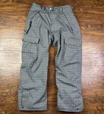 686 Infidry Snowboard Pants Plaid 10000mm XL N