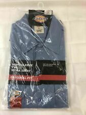 Dickies Long Sleeve Twill Work Shirt Size L