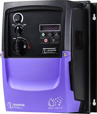 Invertek moteur inverter IP66 kW, 3 phase en phase 3, à ode-3-240095-3f4y
