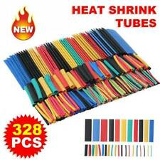 328Pcs Polyolefin 2:1 Heat Shrink Tubing Sleeving Wire Cable Wrap Sleeve Tube US