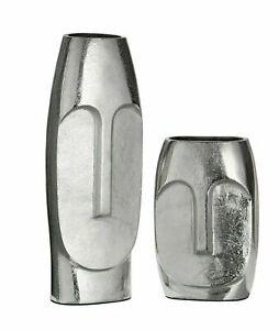 Amazing Italian Art Aluminium Tribute To Picasso Face Vase      For sale is this