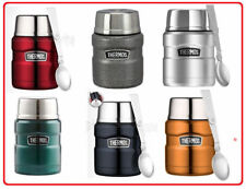❤ Thermos STAINLESS STEEL Vacuum Insulated Food Jar Container 470ml With Spoon