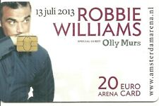 RARE / CARTE TELEPHONIQUE - ROBBIE WILLIAMS / PHONECARD TELEPHONE CARD
