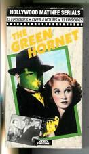 THE GREEN HORNET, 1940 serial crime pulp hero on 2 VHS Video cassette tapes