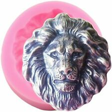 Lion Head Silicone Mold 3D Resin Epoxy Mould Animal Shape Soap DIY Craft Molds