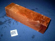 Nussbaum Kantel drechseln schreinern schnitzen  208 x 55 x 55 mm   Nr . 626