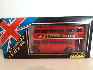 Solido London Double Decker Bus  - Brand New + In Original Box