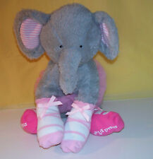 Mud Pie Baby Girl Plush Elephant With Tutu And Socks
