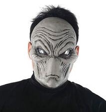 Grey Alien Mask Area 51 UFO Halloween Roswell Film Fancy Dress Face Masque NEW