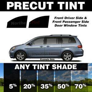 Precut Window Tint for Honda Odyssey 99-04 (Front Doors Any Shade)