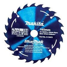 Makita 165mm 24t BlueMak Circular Saw Blade