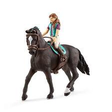 SCHLEICH 42413 Horse Club Mädchen Lisa & Hannoveraner Wallach Storm  Neuheit