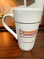 Dunkin' Donuts Classic Mug 18 Oz Tall Ceramic Coffee Cup 2012 America Runs on DD