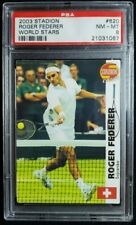 2003 Stadion Czech #620 Roger Federer Rookie Card RC PSA 9 Mint POP 4 GOAT!