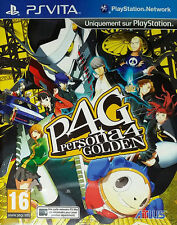 Persona 4 Golden (Sony PlayStation Vita, 2012) - EU  Version
