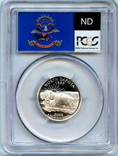 2006 S N Dakota Silver State Quarter PCGS PR70 Graded DCAM Proof Coin 25 Cent