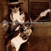 STEVIE RAY VAUGHAN & DOUBLE TROUBLE - LIVE AT CARNEGIE HALL  CD 14 TRACKS NEU