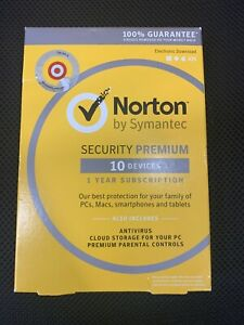 Norton Security Premium - 10 Devices (PC Software) ... A5