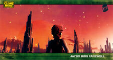 Star Wars Clone Wars Season 1 Widevision Silver Foil Stamped Parallel Card 64