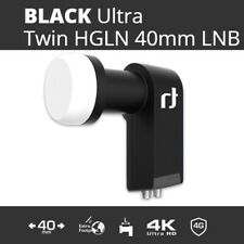 Inverto Black ULTRA Twin LNB 2 output L.N.B High-Gain Low-Noise 40mm 0.2db NEW