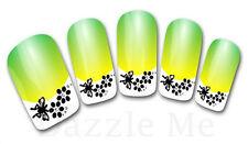 3D Nail Art Sticker Decals Transfer Stickers French Tip Design Flower (3D830)