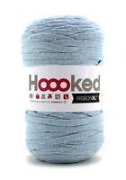Hoooked RibbonXL 120M Cotton Yarn Knitting Crochet  Powder Blue