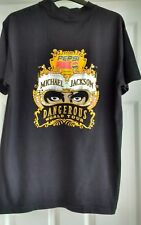 Michael Jackson DANGEROUS world tour T Shirt presented by Pepsi