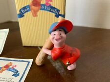 Disney Pooh and Friends Piglet MVF Most Valuable Friend Figurine The Bee Stomper