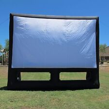 New Infl8 brand 20X12 foot Inflatable Movie Screen (front & rear projection)