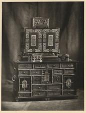 Mobilier, Gabriel Blaise  Vintage albumen print  Photoglyptie  16x21  Circ