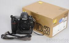 NIKON D3 12.1MP FX PRO DIGITAL SLR CAMERA BODY