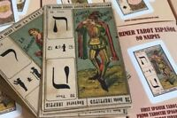 Primer TAROT ESPAÑOL 78 naipes TAROT CATALÁN