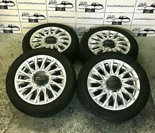 Fiat 500 15 Inch Alloy Wheels And Tyres perfect for an upgrade