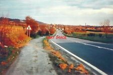 PHOTO  KENT THE A20 DESCENDS TOWARDS CHARING IN 1987 THE ROAD SIGN IS WARNING DR
