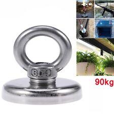 90KG Magneti al Neodimio Magnete da pesca super potente a terre rare con foro