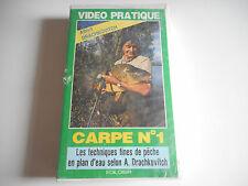 K7 VHS / CASSETTE VIDEO - CARPE N° 1  - ALBERT DRACHKOVITCH