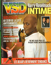 VSD N°1517 jamel debbouze boxe richard aujard harry roselmack 2006