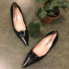 Manolo Blahnik Black Heels Size 38