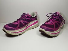 Hoka One One Stinson Lite Women's Running Shoes Pink Purple 20609 020 FPG Sz 9