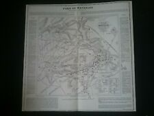 JUNE 18TH 1815 THE BATTLE OF WATERLOO , EXACT COPY OF ORIGINAL COTTON'S PLAN (1)