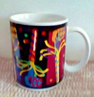 Party Gift Style Wrap Around Design Coffee Cup Mug