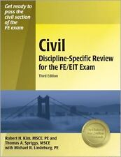 Civil Discipline-Specific Review for the FE/EIT Exam by Thomas A. Spriggs