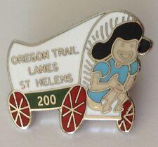 Oregon Trail Lanes St Helens 200 Game Ten Pin Bowling Badge Vintage Tenpin (L39)