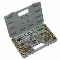 Neiko 40 PC Tap Die Set | MM Heavy Duty Titanium Steel Coated