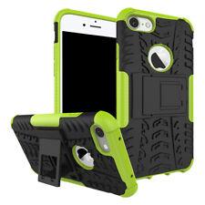 New Hybrid Case 2teilig Outdoor Grün für Apple iPhone 8 und 7 4.7 Tasche Hülle