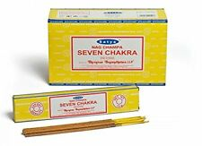 Satya Sai Baba sieben Chakra Nag Champa 180G Gramm Yoga Räucherstäbchen kostenlo...