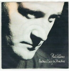 """7"""" - Phil COLLINS (GENESIS) - ANOTHER DAY IN PARADISE - german PS"""