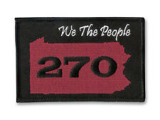 GOP - Donald Trump - 270 Electoral Votes in Pennsylvania - Embroidered Patch