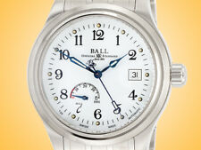 BALL Watch Co. TrainmasterPower Reserve Men's Automatic Stainless Steel Watch